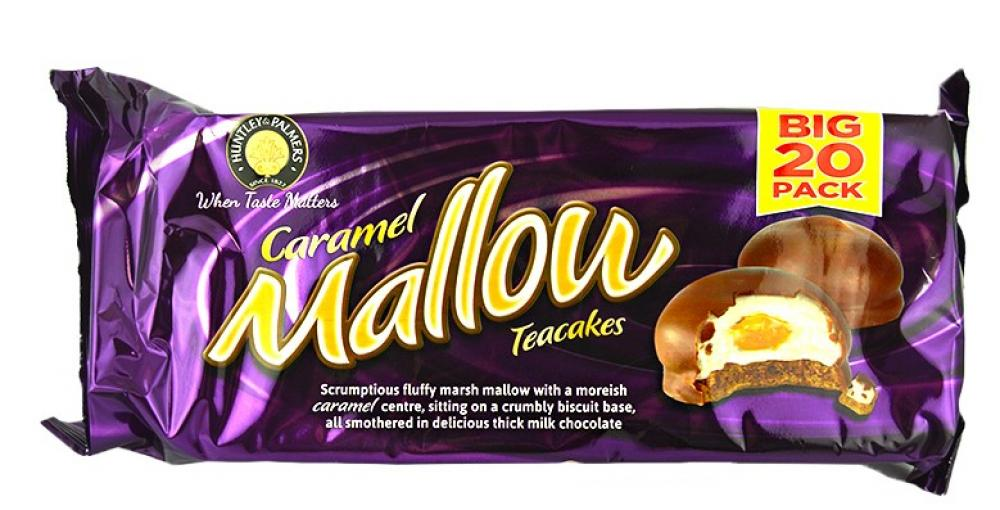 Huntley and Palmers Caramel Mallow Teacakes Big 20 Pack