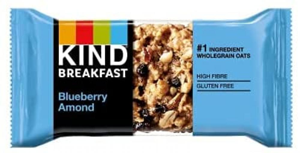 Kind Breakfast Blueberry Almond Cereal Bars 40 g