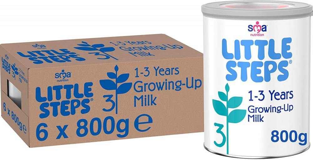SMA Nutrition LITTLE STEPS Growing up Baby Milk 800g