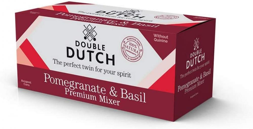 Double Dutch Ltd Pomegranate and Basil Flavoured Tonic Water 150ml