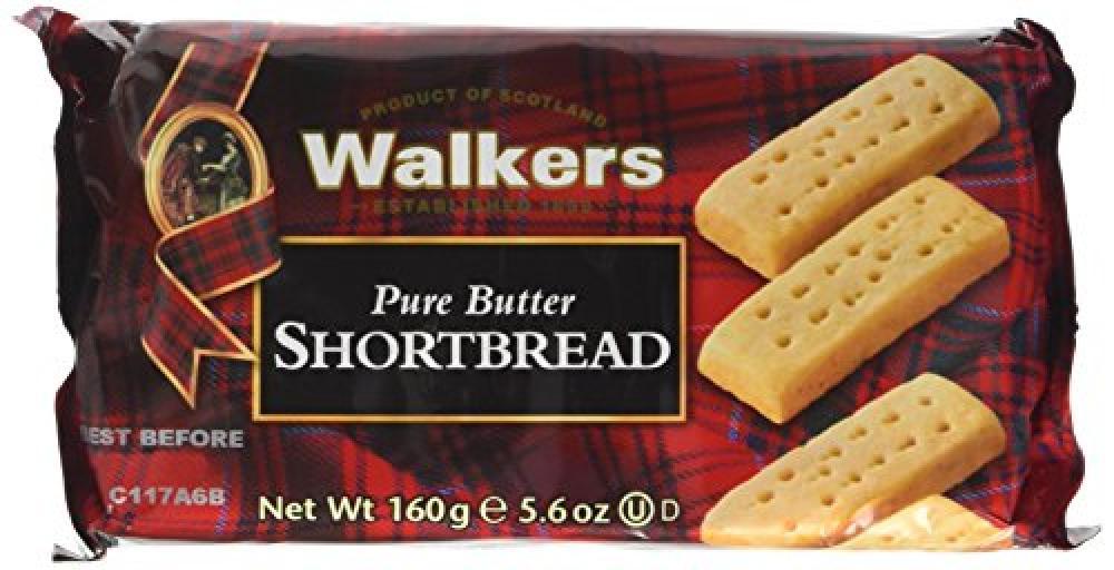 Walkers Shortbread Pure Butter Shortbread 160g