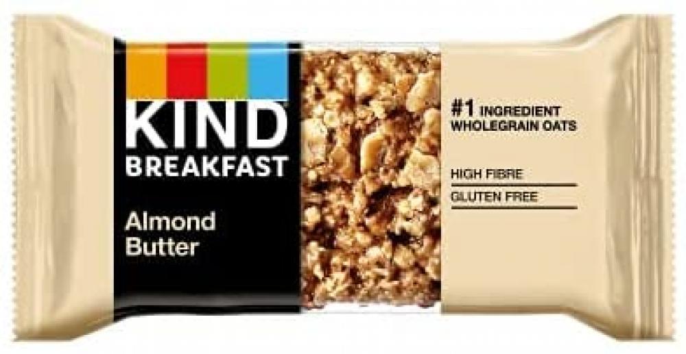 Kind Almond Butter Breakfast Cereal Bar 40g