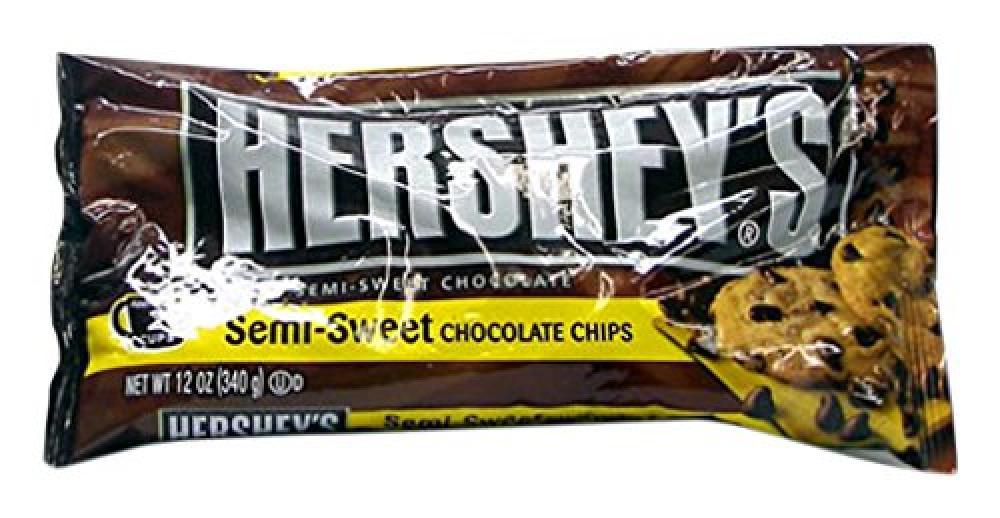 Hersheys Semi Sweet Chocolate Chips 340g