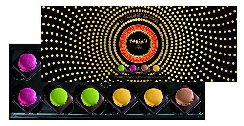 FLASH DEAL  Maxims de Paris Assortment Of 12 Macaron Chocolates 120g