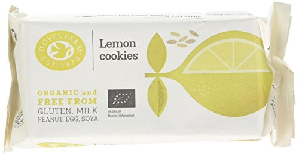 Doves Farm Organic Lemon Zest Cookies 150g