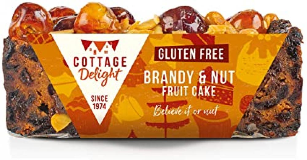 Cottage Delight Gluten Free Brandy and Nut Fruit Cake