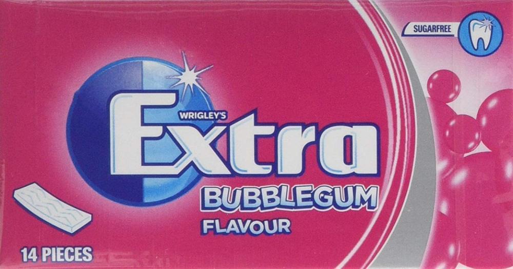Wrigleys Extra Bubblegum Flavour 14 Pieces