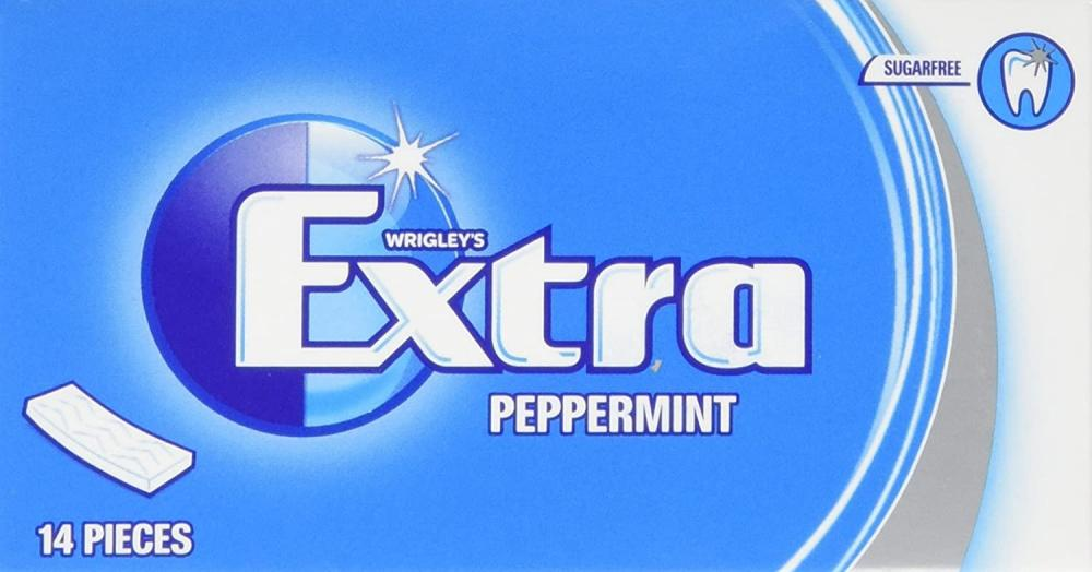 Wrigleys Extra Peppermint Sugarfree Chewing Gum 27 g