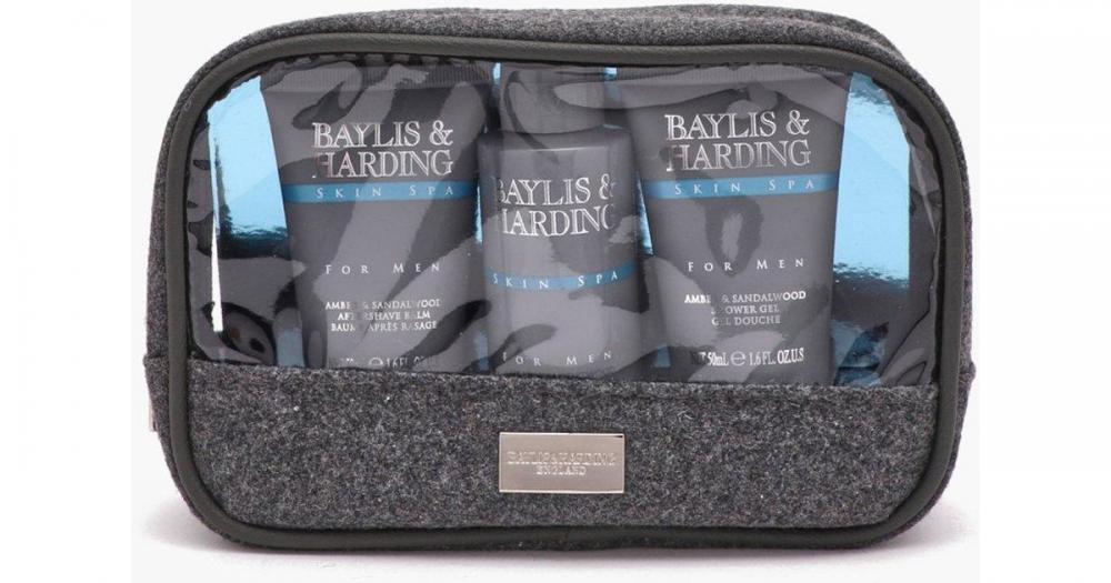 Baylis and Harding Skin Spa Wash Bag For Men