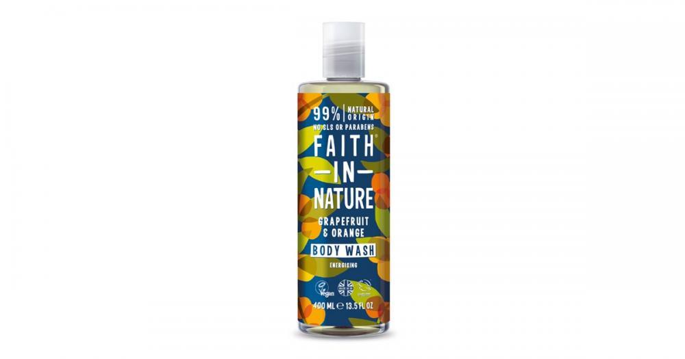 Faith In Nature Natural Grapefruit and Orange Body Wash 400 ml