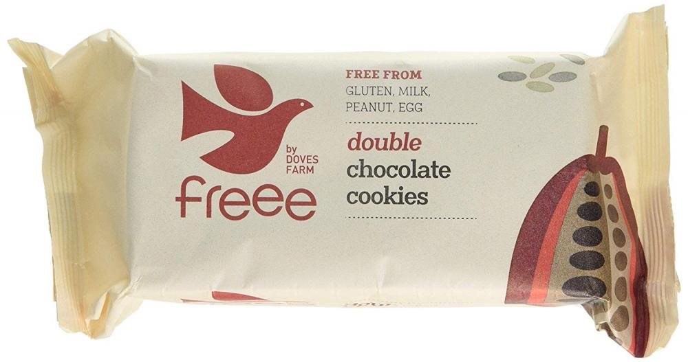 Doves Farm Double Chocolate Cookies 180g