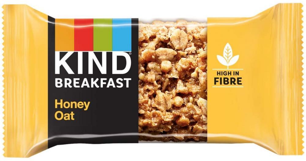 Kind Breakfast Honey Oat Bar 50 g