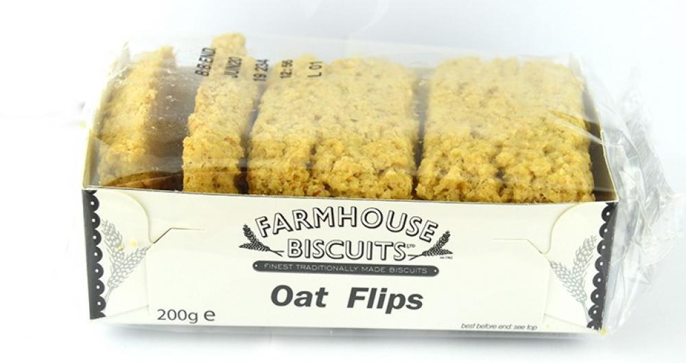 Farmhouse Biscuits Oat Flips 200g