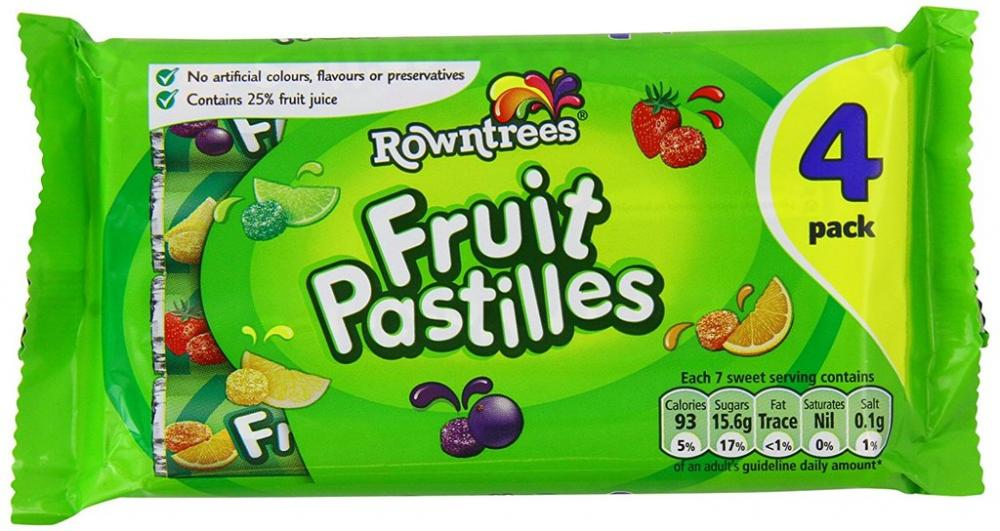 Rowntrees Fruit Pastilles Tube 210 g
