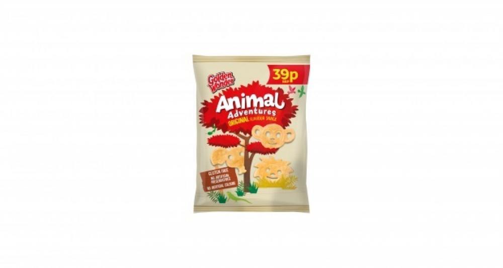 SALE  Golden Wonder Animal Adventures Original 18.9g