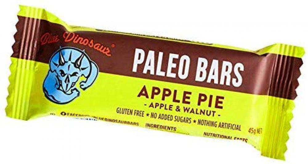 Blue Dinosaur Paleo Bars Apple Pie 45g