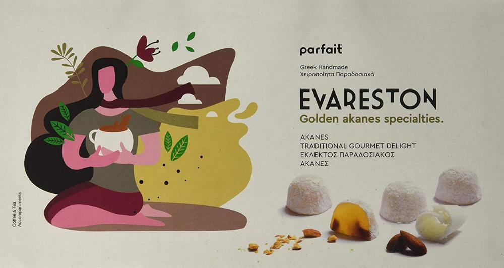 Parfait Evareston Golden Gourmet Akanes Loukoumi 200g