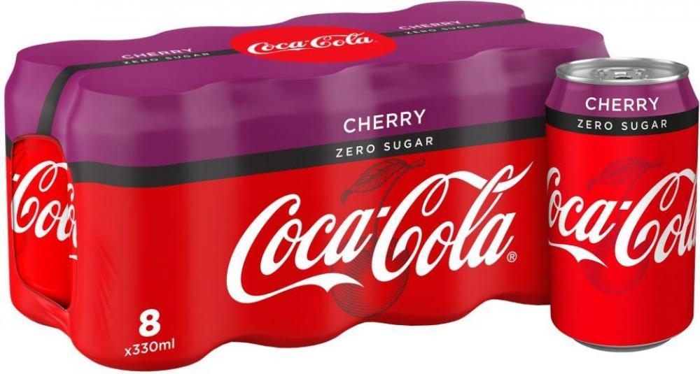 Coca Cola Zero Cherry 8 x 330ml