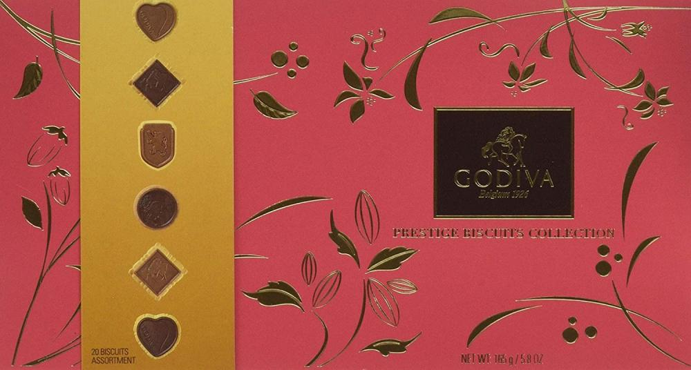 Godiva Prestige Chocolate Biscuit Collection 165 g