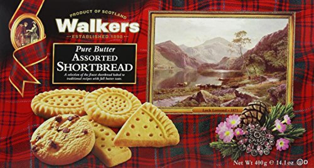 Walkers Shortbread Assorted Shortbread 400g