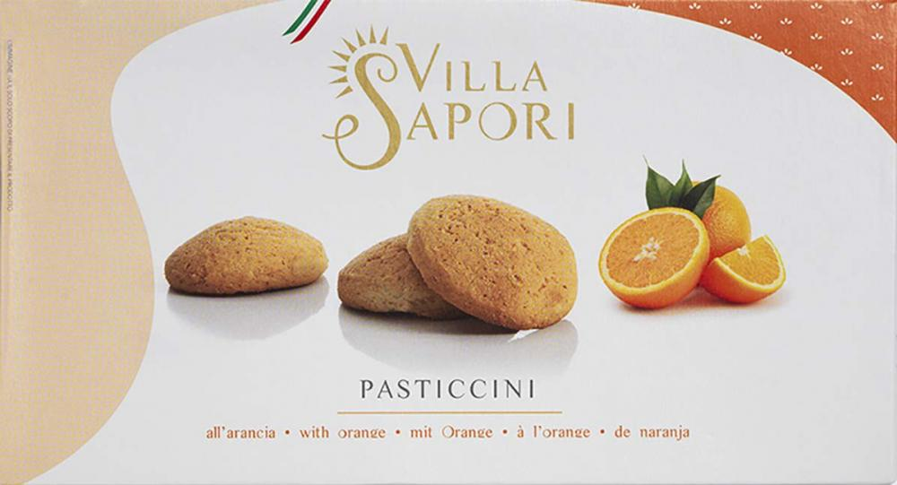 Villa Sapori Traditional Italian round-shaped Pastry with Orange Flavor 180g