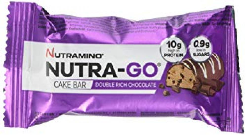 Nutramino Nutra Go Double Rich Chocolate Cake Bar 38g