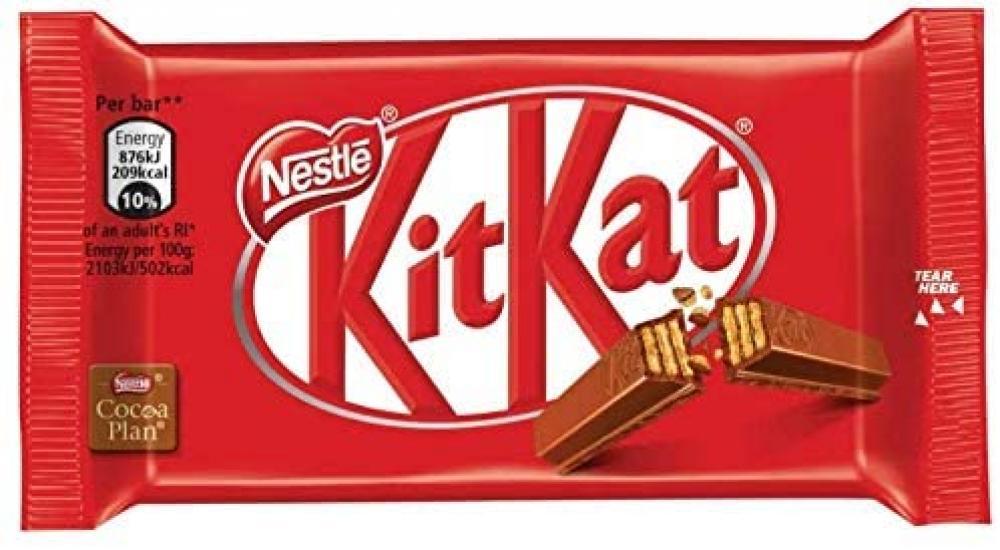 Nestle Kitkat Milk Chocolate 4 Finger 41.5 g