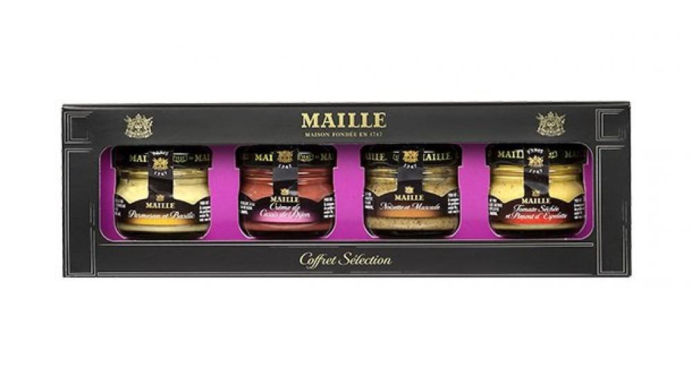 Maille Coffret Selection 4 pack