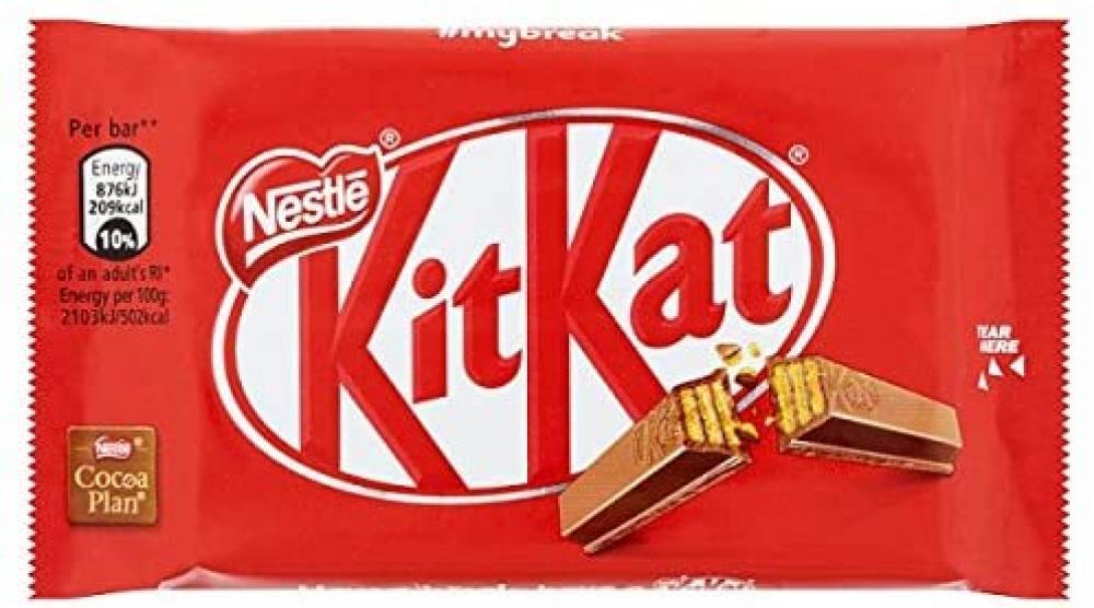 Nestle Kitkat 4 Fingers 41.5g