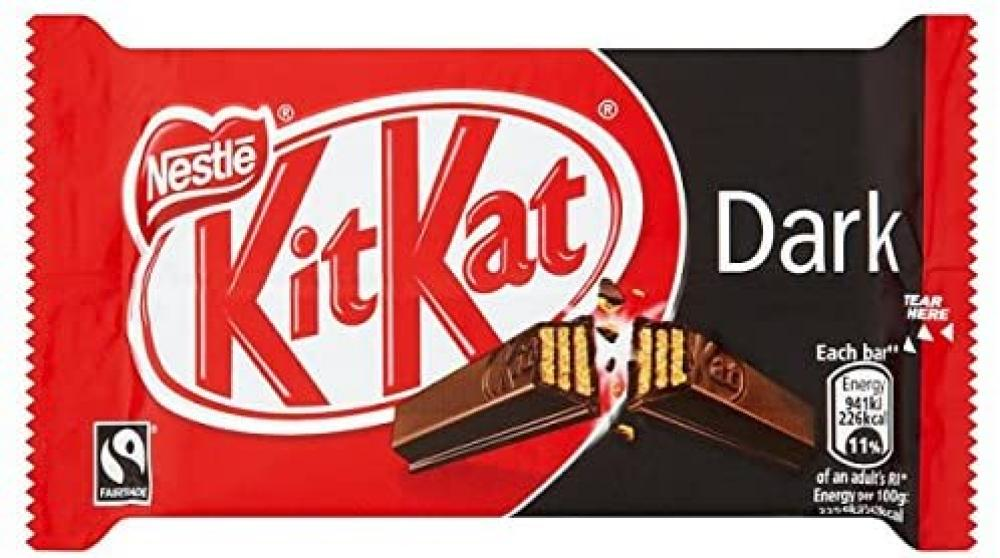Nestle Kitkat 4 Fingers Dark 41.5g