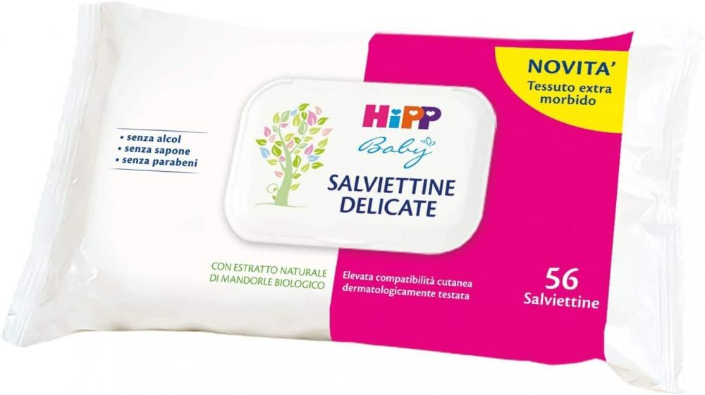 Hipp Baby Salviettine Delicate Pack of 56