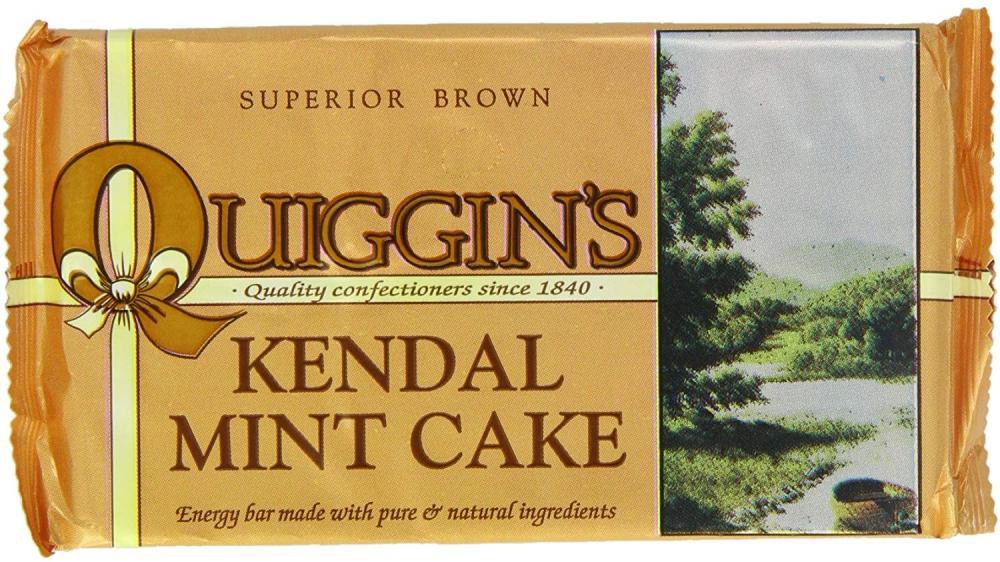Quiggins Kendal Brown Mint Cake 170g