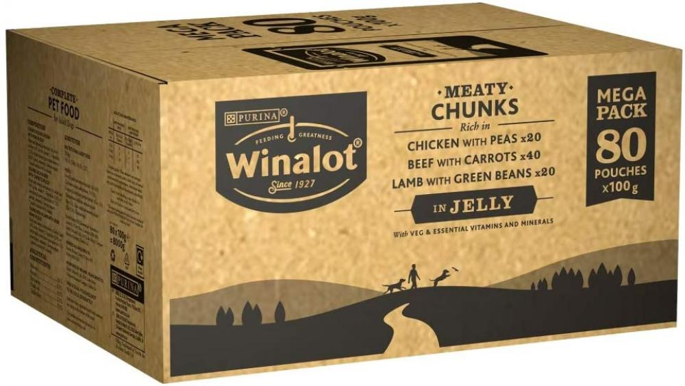 Winalot Perfect Portions Dog Food Mixed in Jelly 100g LUCKY DIP