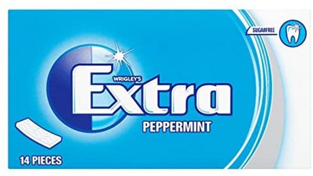SALE  Wrigleys Extra Peppermint 14 Pieces