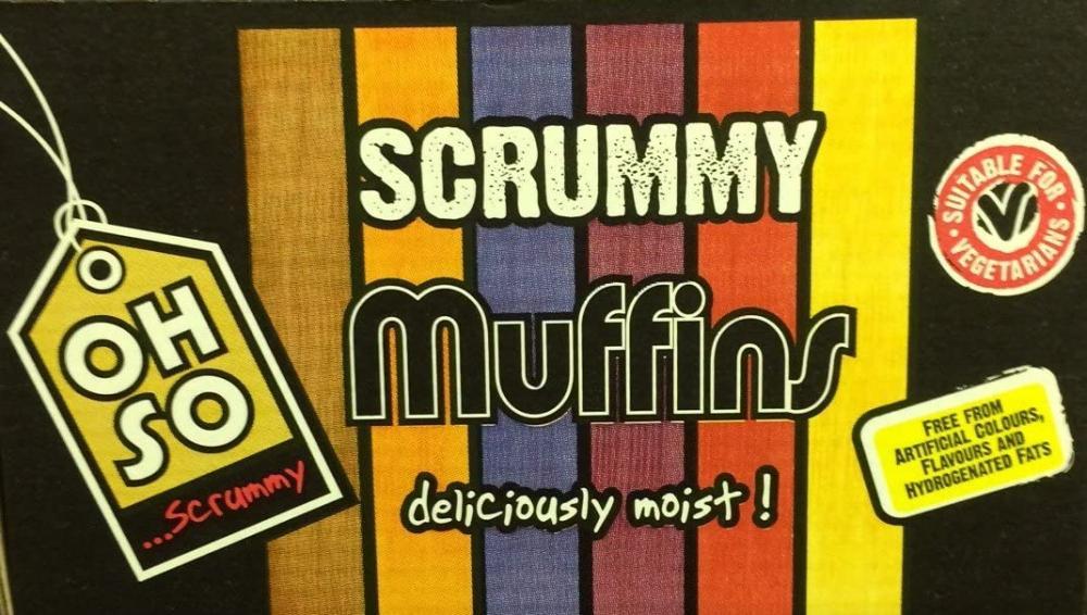 CASE PRICE  Oh So Scrummy Lemon Burst Muffin x 18