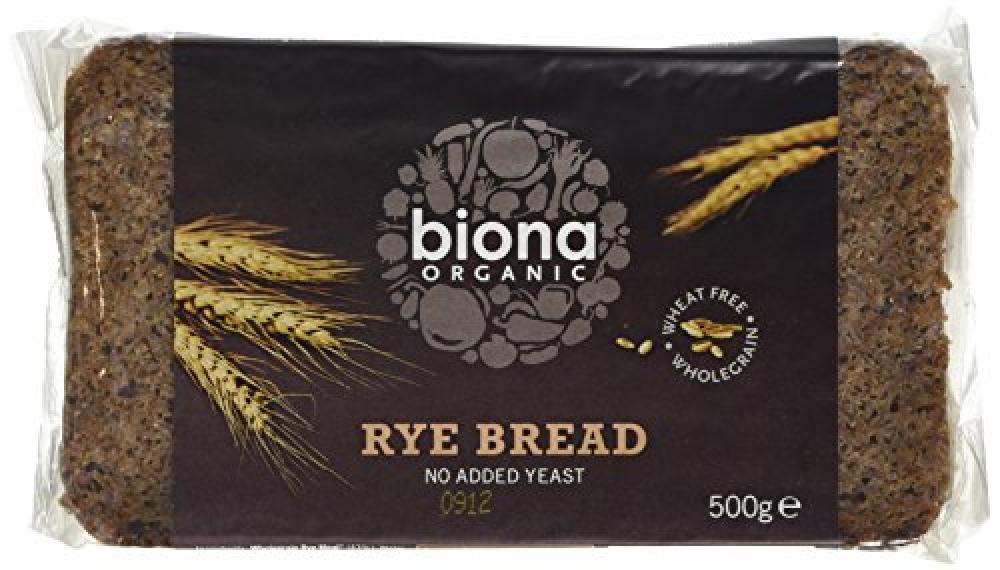 Biona Organic Rye Bread 500 g