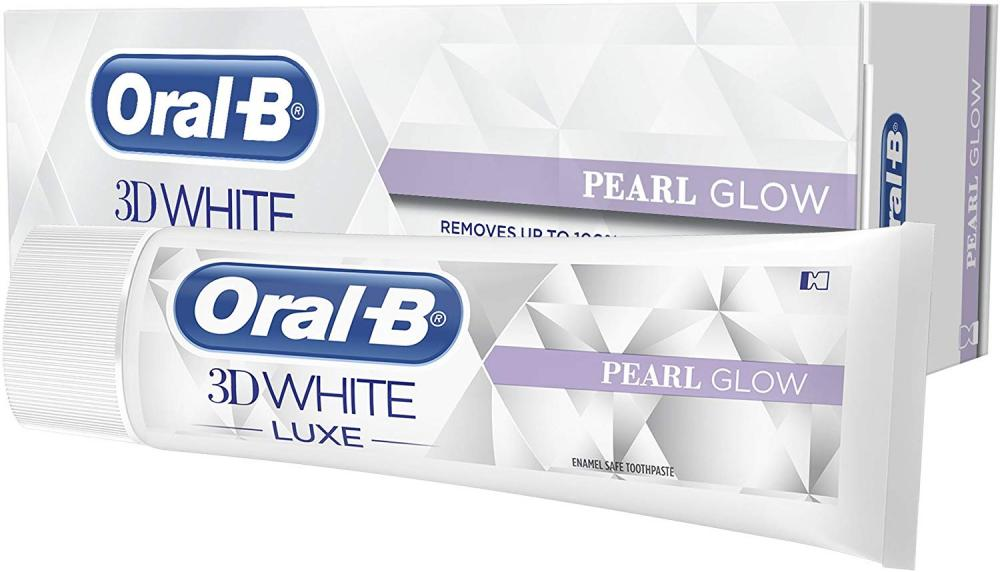 Oral-B 3D White Luxe Pearl Glow Toothpaste 75 ml