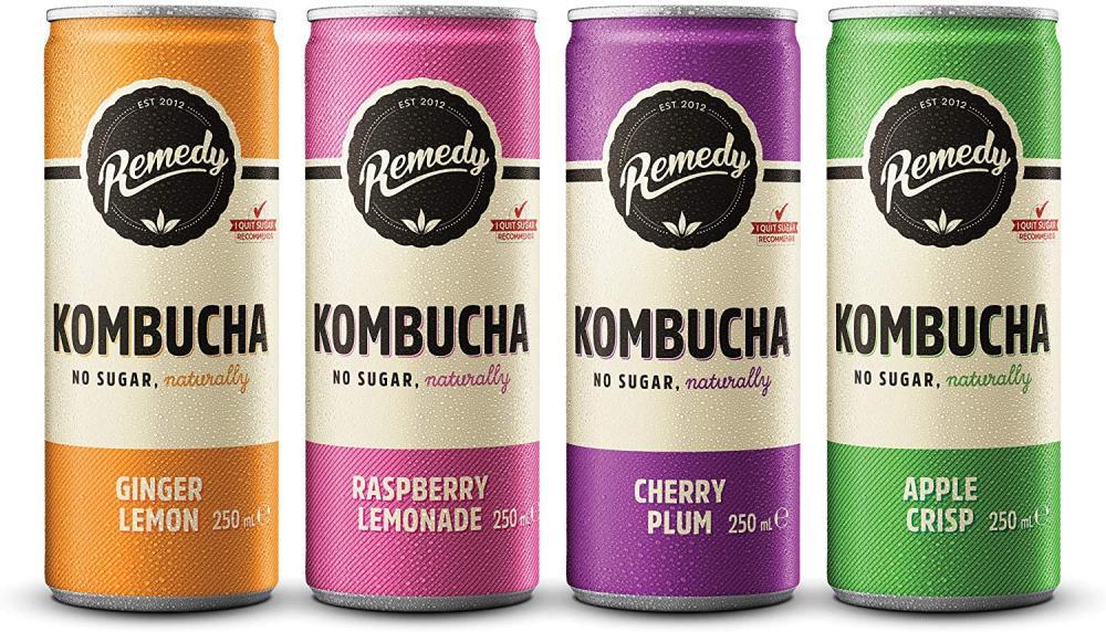 Remedy Raw Kombucha Tea LUCKY DIP 250ml