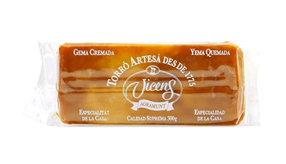 Vicens Caramelized Egg Yolk Nougat 300g
