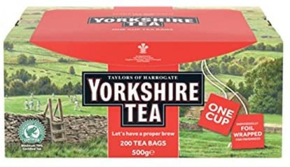 Taylors Of Harrogate Yorkshire Tea 200 Teabags