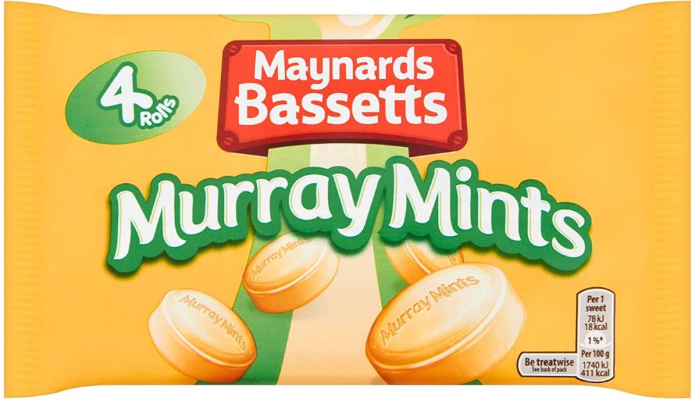 Maynards Bassetts Murray Mints Sweets 4 Roll Multipack (180 g)