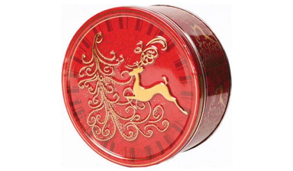 Jacobsens Reindeer Tin Cookies 600g