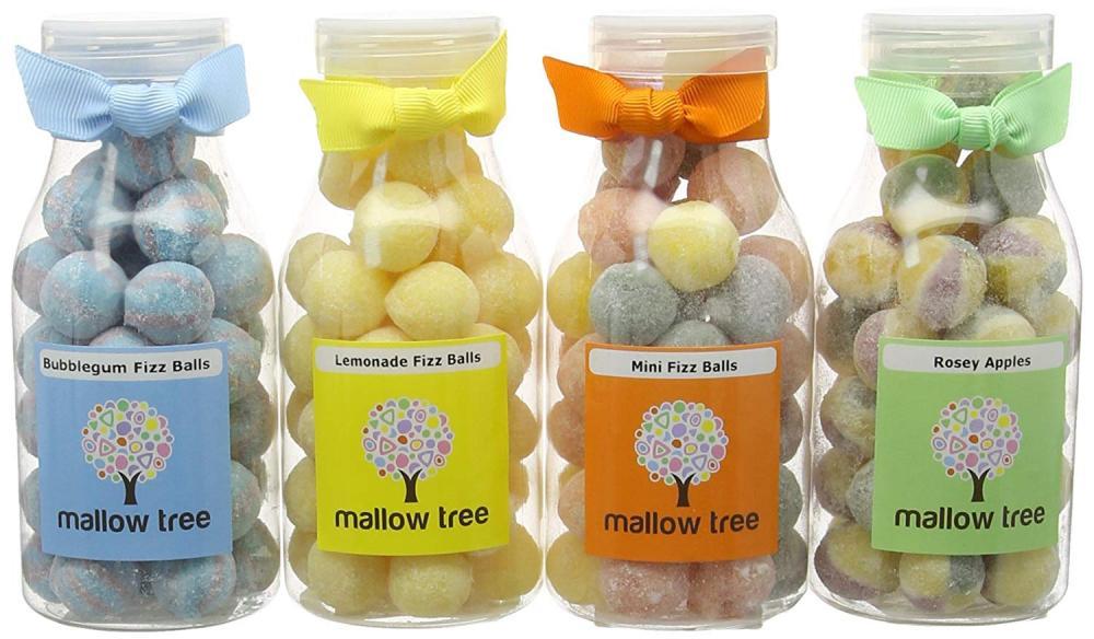 Mallow Tree Sweets in Milk Bottle Lucky Dip 250g