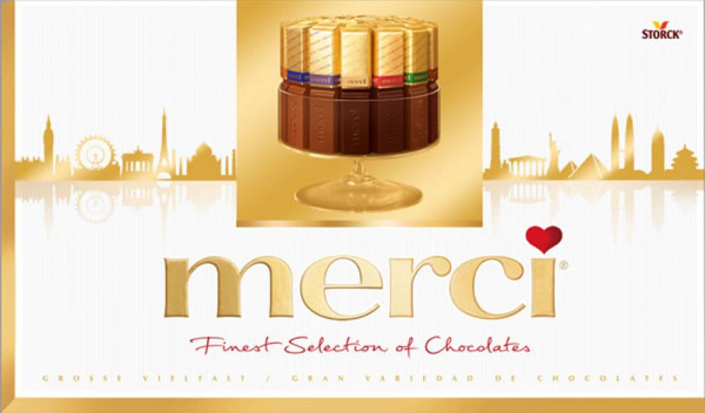 SALE  Storck Merci Finest Selection Of Chocolates 400g