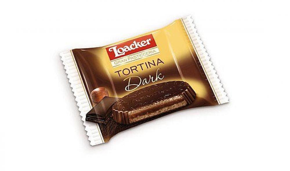 Loacker Dark Tortina Wafers 21 g