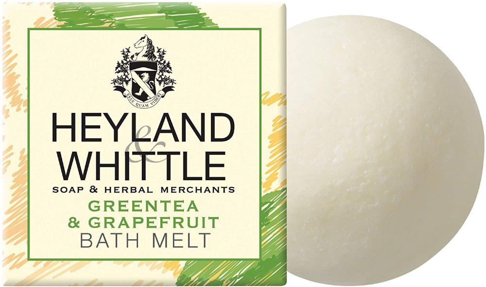 Heyland and Whittle Greentea and Grapefruit Bath Melt 40g