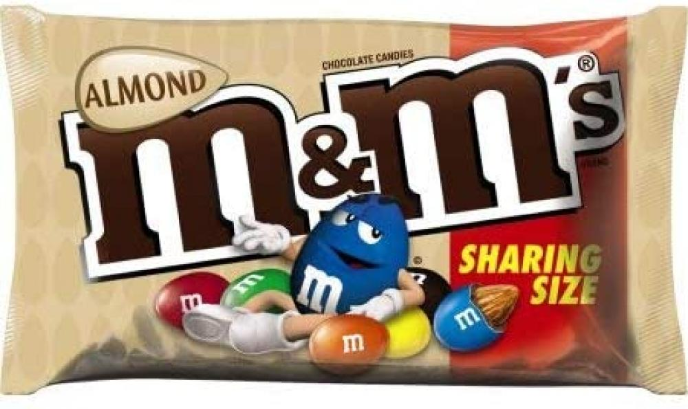 SALE  M and Ms Almond Share Size 80.2g