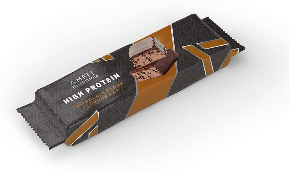 Amfit Nutrition Low Sugar Protein Bar Chocolate Fudge 60g