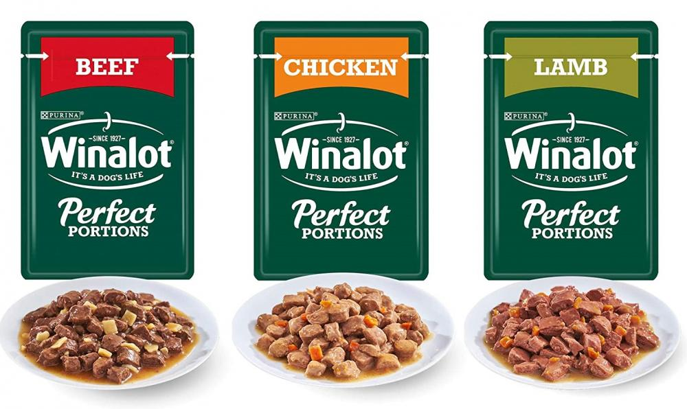 Winalot Perfect Portions Dog Food Meat Gravy LUCKY DIP 100g