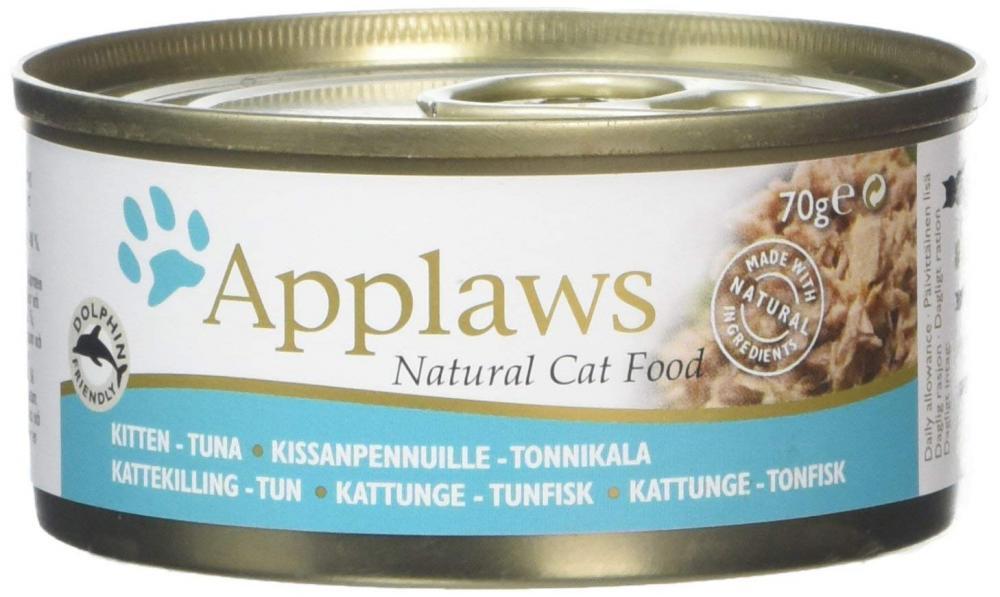 WEEKLY DEAL  Applaws Kitten Food Tin Tuna 70 g